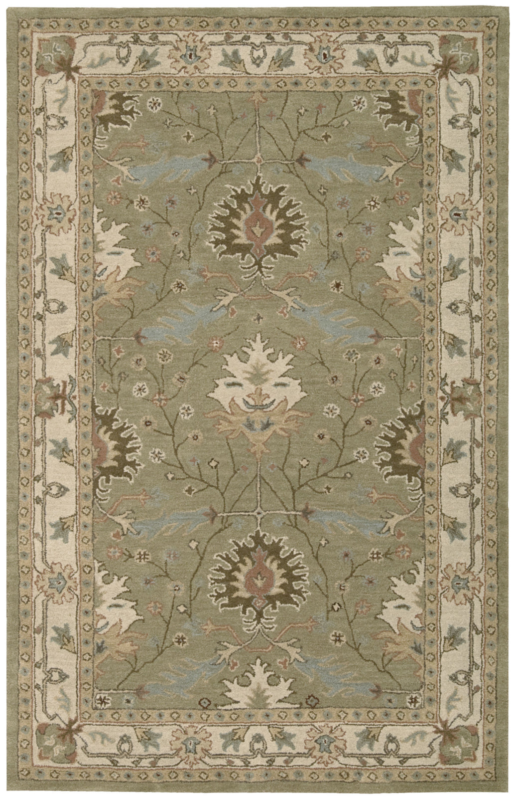 Nourison India House IH76 Sage Area Rug main image