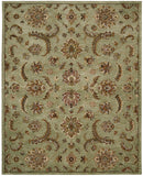 Nourison India House IH83 Light Green Hand Tufted Area Rug