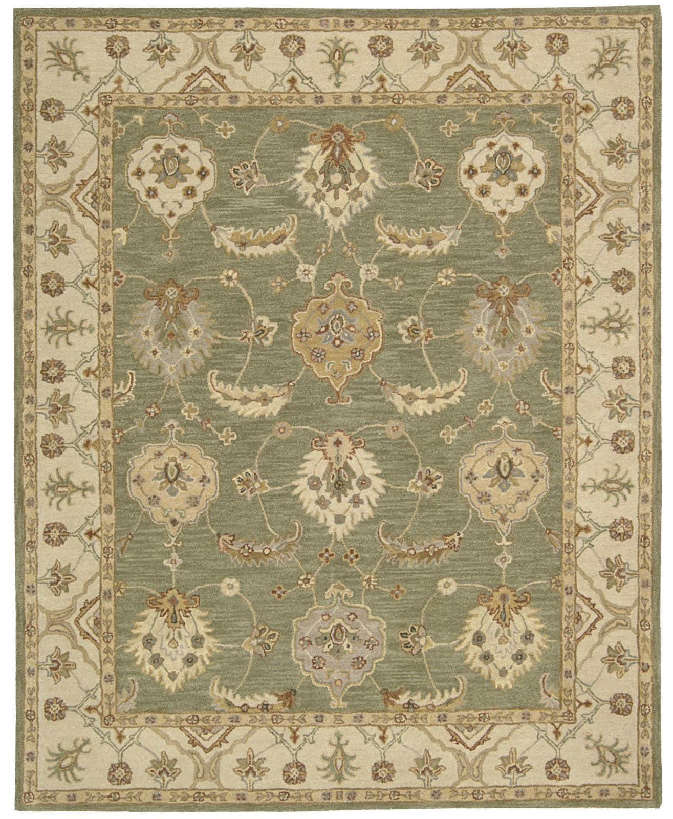 Nourison India House IH87 Kiwi Area Rug main image