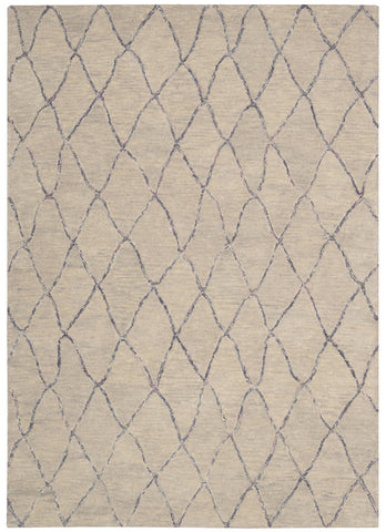Nourison Intermix INT02 Driftwood Hand Woven Area Rug by Barclay Butera