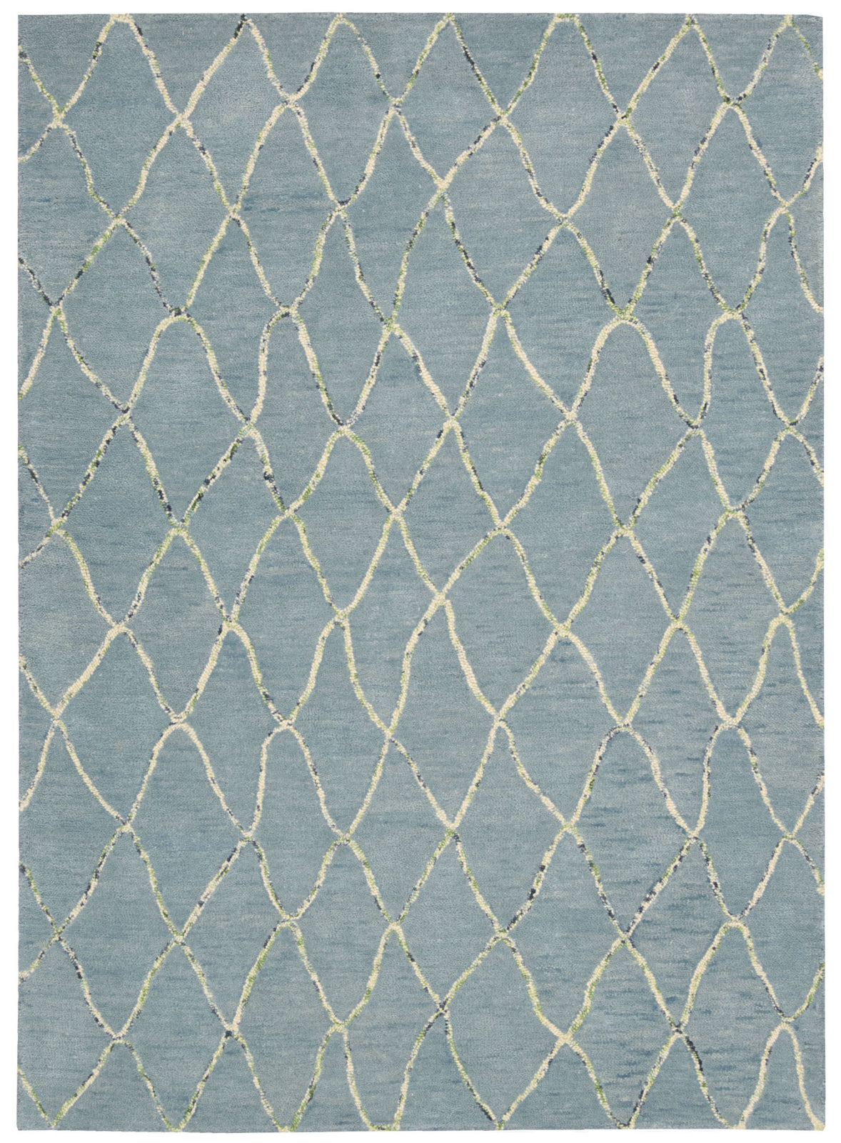 Nourison Intermix INT02 Wave Area Rug by Barclay Butera main image