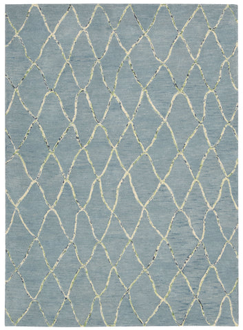 Nourison Intermix INT02 Wave Hand Woven Area Rug by Barclay Butera