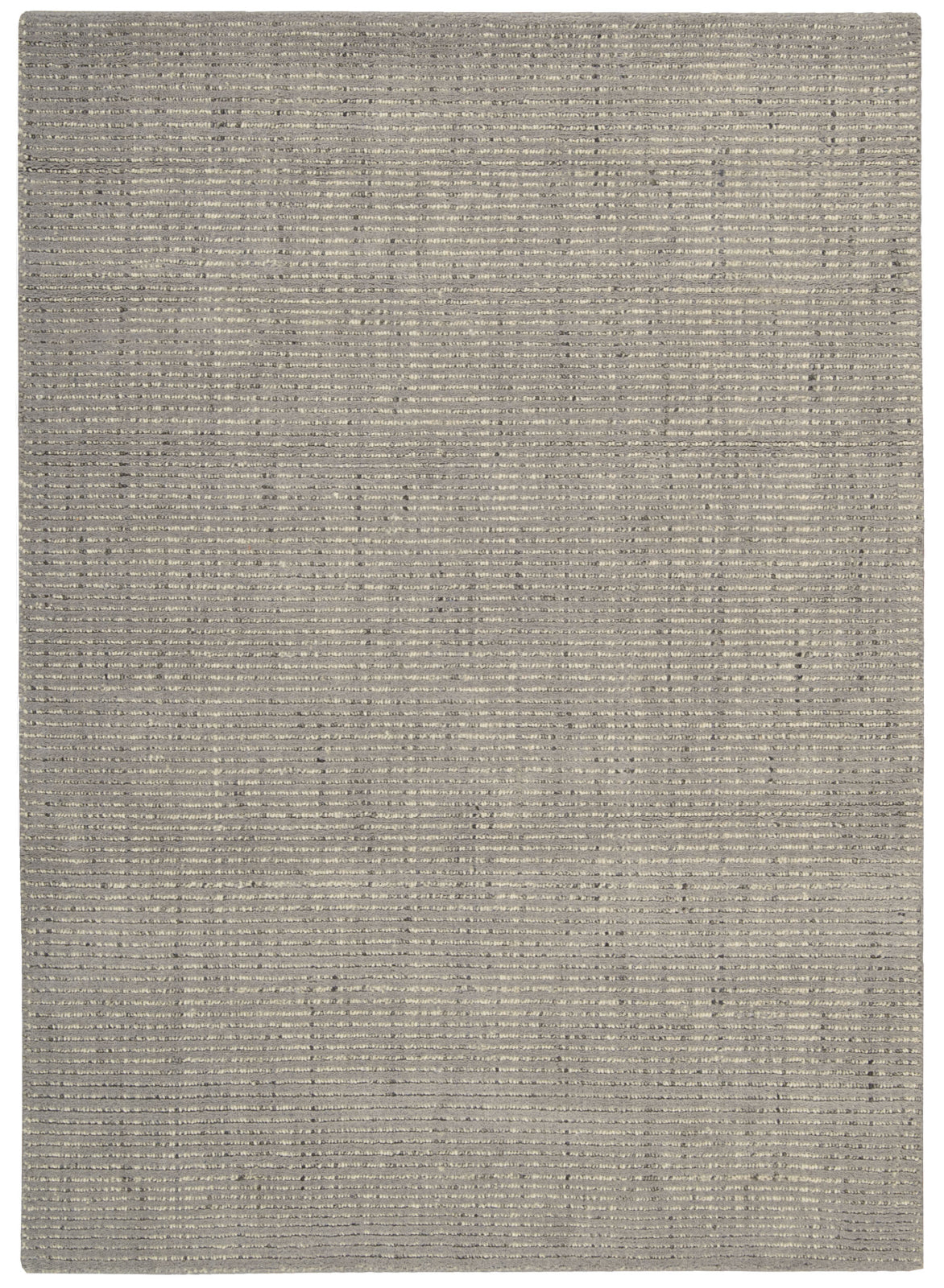 Nourison Intermix INT03 Smoke Area Rug by Barclay Butera main image