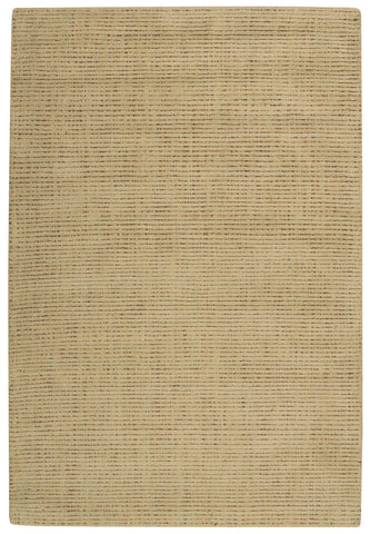 Nourison Intermix INT03 Wheat Hand Woven Area Rug by Barclay Butera