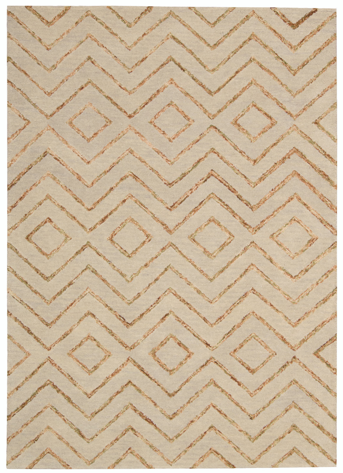 Nourison Intermix INT04 Sand Area Rug by Barclay Butera main image