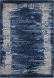 Nourison Illusion KI242 Blue Area Rug by Kathy Ireland