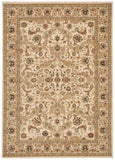 Nourison Lumiere KI600 Royal Countryside Beige Machine Woven Area Rug by Kathy Ireland