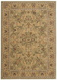 Nourison Lumiere KI600 Royal Countryside Sage Machine Woven Area Rug by Kathy Ireland