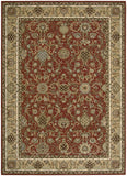 Nourison Lumiere KI602 Stateroom Brick Machine Woven Area Rug by Kathy Ireland