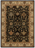 Nourison Lumiere KI602 Stateroom Onyx Machine Woven Area Rug by Kathy Ireland