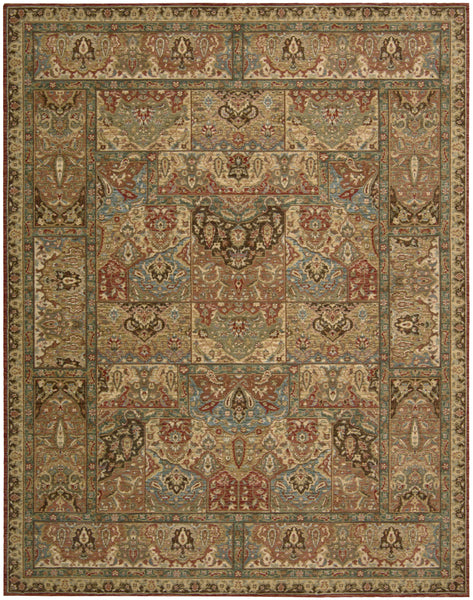 Nourison Living Treasures Li02 Multicolor Area Rug