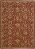 Nourison Radiant Impression LK08 Persimmon Machine Woven Area Rug