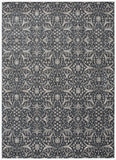 Nourison Luminance LUM08 Graphite Machine Woven Area Rug