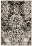 Nourison Glistening Nights MA501 Light Grey Machine Woven Area Rug by Michael Amini