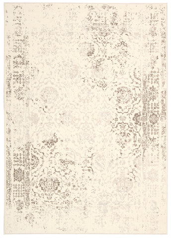 Nourison Glistening Nights MA510 Ivory Area Rug by Michael Amini main image