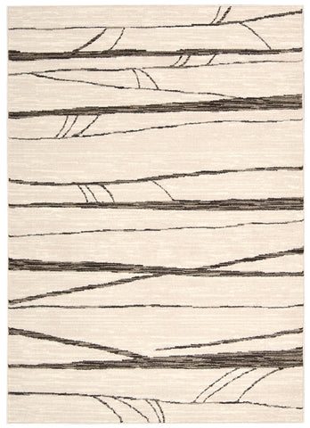 Nourison Glistening Nights MA512 Ivory Area Rug by Michael Amini main image