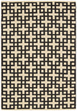 Nourison Maze MAZ01 Midnight Hand Woven Area Rug by Barclay Butera