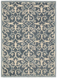 Nourison Marina MRN10 Denim Hand Tufted Area Rug