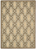 Nourison Marina MRN15 Light Green Hand Tufted Area Rug