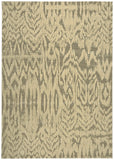Nourison Nepal NEP10 Ivory Grey Machine Woven Area Rug