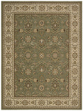 Nourison Persian Crown PC001 Green Machine Woven Area Rug