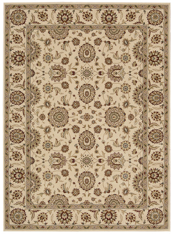 Nourison Persian Crown PC002 Ivory Machine Woven Area Rug