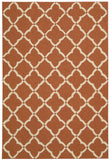Nourison Portico POR01 Orange Hand Tufted Area Rug