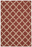 Nourison Portico POR01 Red Hand Tufted Area Rug