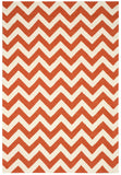 Nourison Portico POR03 Orange Hand Tufted Area Rug