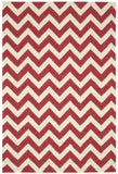 Nourison Portico POR03 Red Hand Tufted Area Rug