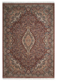 Nourison Persian Palace PPL02 Terracotta Machine Woven Area Rug
