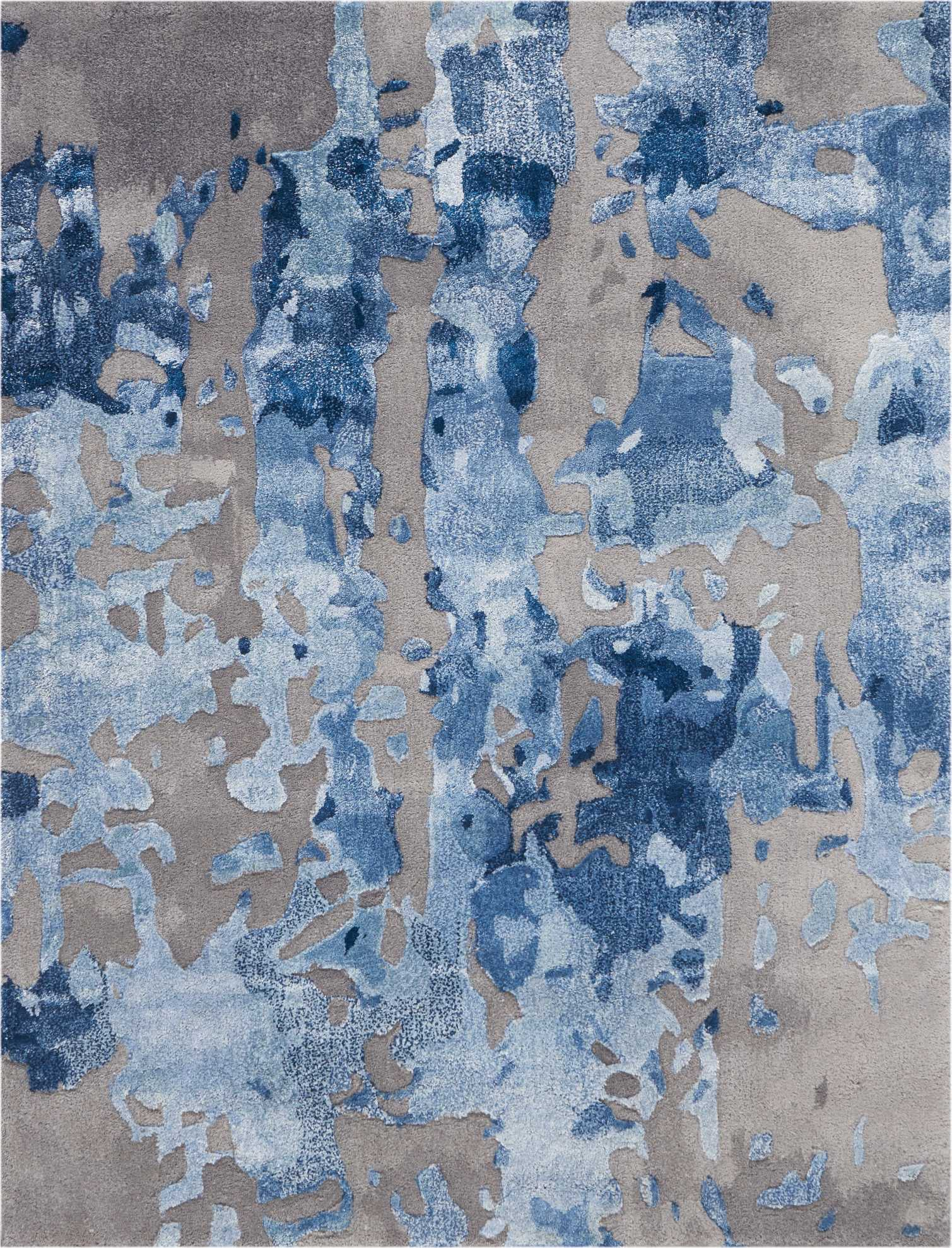 Prismatic PRS10 Blue/Grey Area Rug by Nourison main image