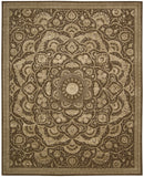 Nourison Regal REG02 Chocolate Hand Tufted Area Rug