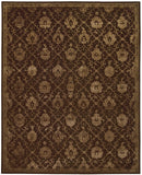Nourison Regal REG05 Chocolate Hand Tufted Area Rug
