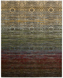 Nourison Rhapsody RH002 Multicolor Machine Woven Area Rug