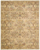 Nourison Rhapsody RH008 Light Gold Machine Woven Area Rug
