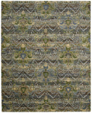 Nourison Rhapsody RH010 Seaglass Machine Woven Area Rug