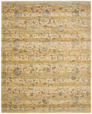 Nourison Rhapsody RH013 Caramel Cream Machine Woven Area Rug