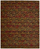 Nourison Rhapsody RH014 Flame Machine Woven Area Rug