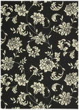 Nourison Home and Garden RS014 Black Area Rug
