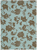 Nourison Home and Garden RS014 Light Blue Area Rug