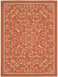 Nourison Home and Garden RS019 Orange Area Rug
