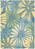 Nourison Home and Garden RS022 Blue Area Rug