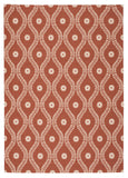 Nourison Home and Garden RS085 Rust Area Rug