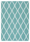 Nourison Home and Garden RS089 Aqua Area Rug