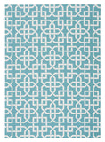 Nourison Home and Garden RS090 Aqua Area Rug