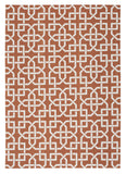 Nourison Home and Garden RS090 Rust Area Rug