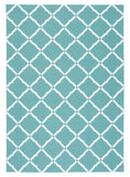Nourison Home and Garden RS091 Aqua Area Rug