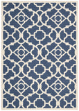 Nourison Sun and Shade SND04 Lovely Lattice Lapis Machine Woven Area Rug by Waverly