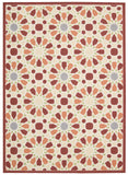 Nourison Sun and Shade SND29 Starry Eyed Flamingo Machine Woven Area Rug by Waverly